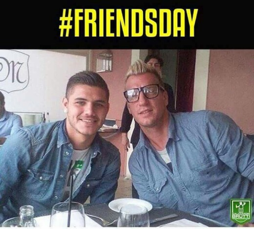 Mauro Icardi - Maxi Lopez #friendsday