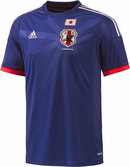76f00fc5feb00 Adidas apresenta uniformes do Japão para a Copa do Mundo - Show de Camisas