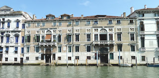 The Palazzi Mocenigo complex on the Grand Canal