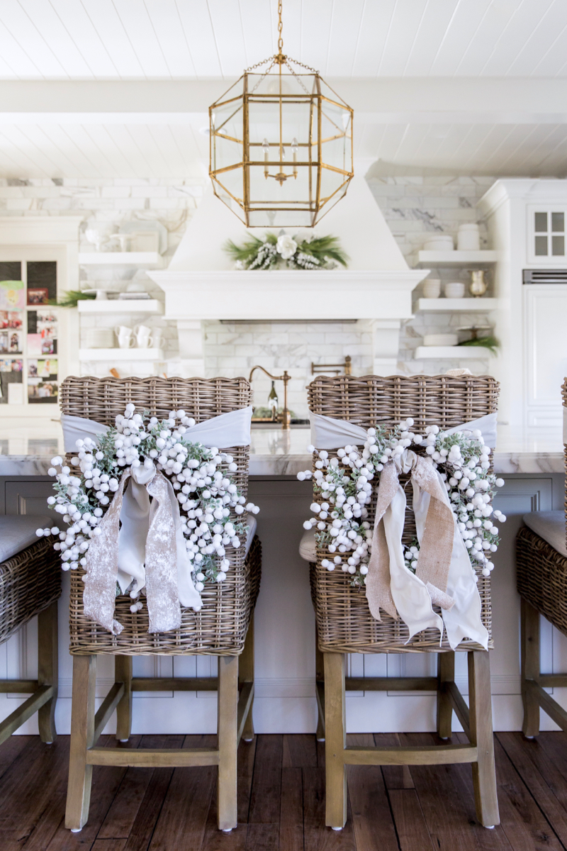 holiday inspiration christmas kitchen decor by rachel parcell