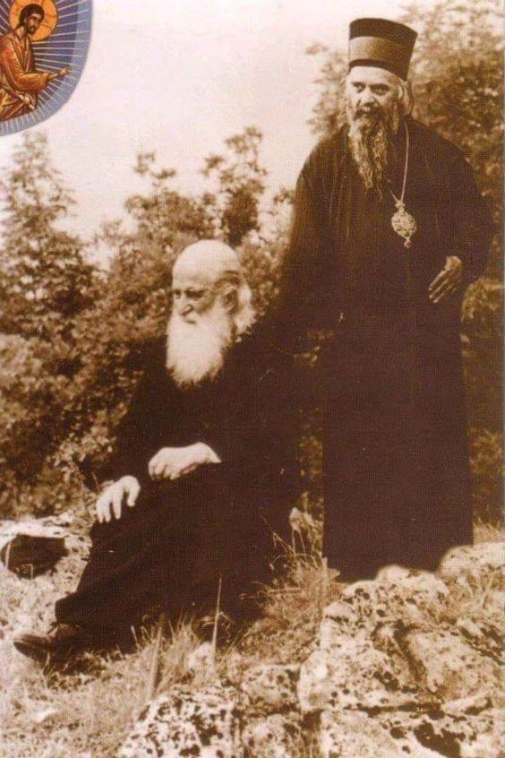 Ἅγιοι Νικόλαος Βελιμίροβιτς καί Ἅγιος Ἰουστῖνος Πόποβιτς. Δύο γίγαντες τῆς Ὀρθοδοξίας. – Κύριος Ἰησοῦς Χριστός-Ὑπεραγία Θεοτόκος