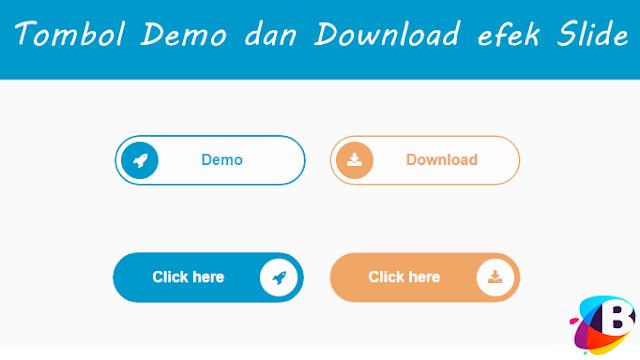 Tombol Demo dan Download Dengan Efek Slide