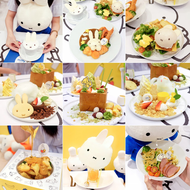 Singapore FIRST Miffy Pop-Up Cafe at Kumoya! (LIMITED TIME ONLY)