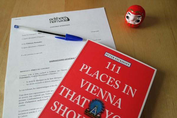 contrat guide voyage éditions nomades Vienne