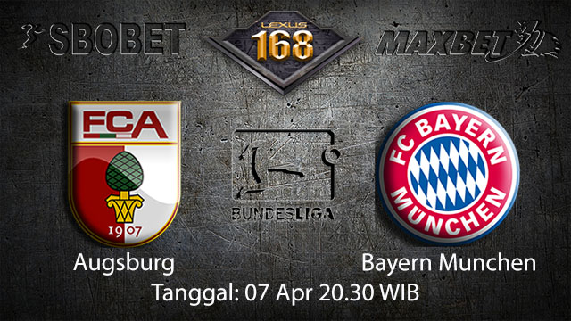 BOLA88 - PREDIKSI TARUHAN BOLA AUGSBURG VS BAYERN MUNCHEN 7 APRIL 2018 ( GERMAN BUNDESLIGA )