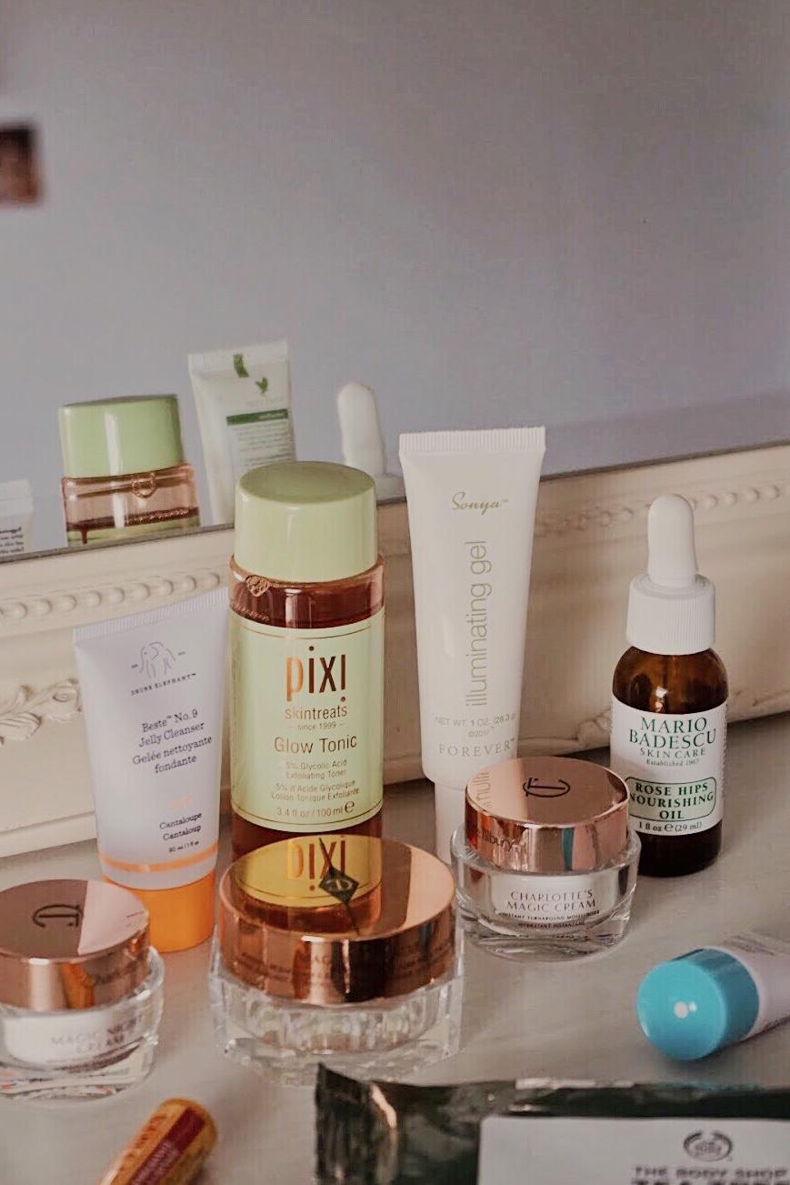Travel Size Skincare Essentials