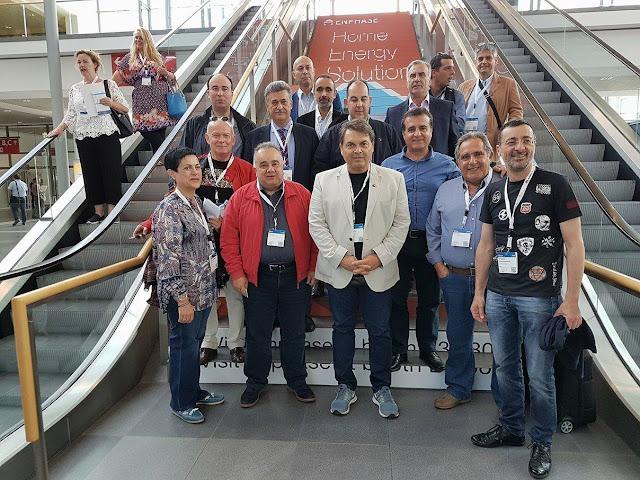 Στην Γερμανία ο Δήμαρχος Άργους Μυκηνών σε διεθνή έκθεση ανανεώσιμων πηγών ενέργειας