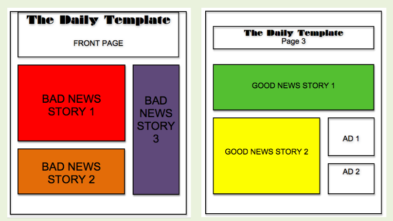 wh5 The Daily Template Bad News, Good News