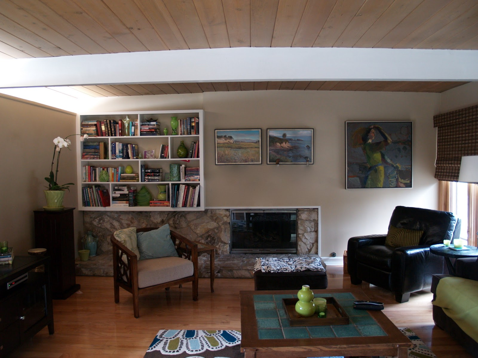 Should A Mid Century Modern Fireplace Have A Mantle Mid