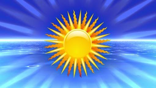 retrospectiva animada vídeo intro sol verão férias