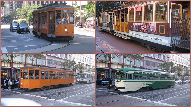 San Francisco - Tranvías - Trams