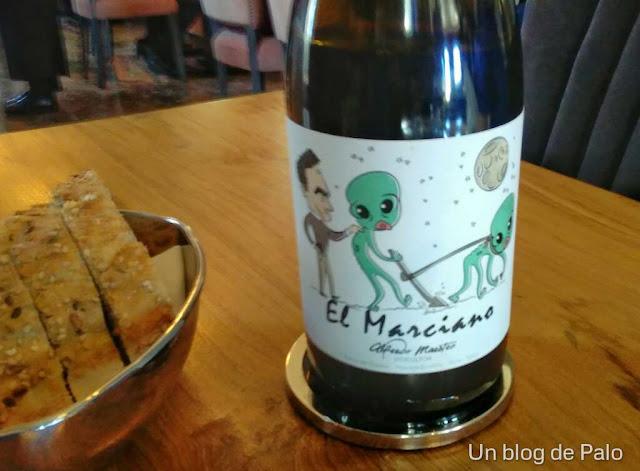 Vino El Marciano - Restaurante Ático by Ramón Freixa
