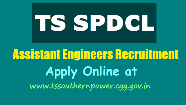 #TSSouthernPower tsspdcl assistant engineer posts 2018 Results, Certificates verifcation dates,last date,online application,exam date,hall tickets,results,www.tssouthernpower.com,qualifications,how to apply,online fee payment