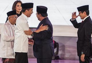 Ini Momen-Momen Menyejukkan Jokowi Bertemu Prabowo