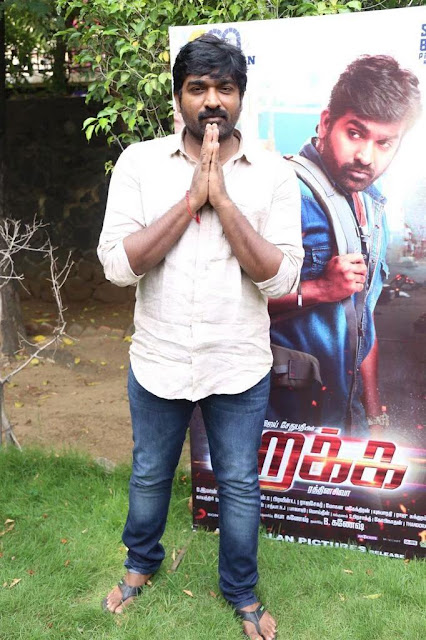 Vijay sethupathi at Rekka Tamil Movie Press Meet Stills