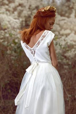 Robe de mariée Grace Faith Cauvain