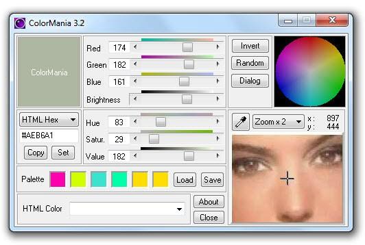 Δωρεάν πρόγραμμα για να επιλέγεις χρώματα