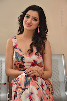 Actress Richa Panai Pos in Sleeveless Floral Long Dress at Rakshaka Batudu Movie Pre Release Function  0109.JPG