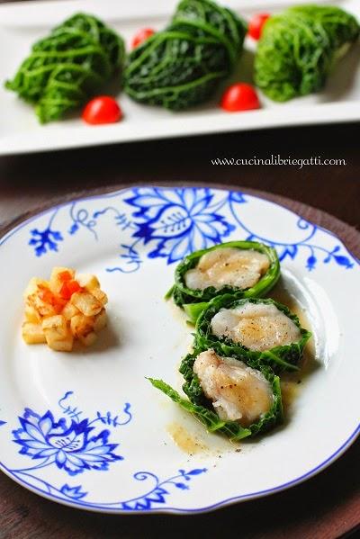 involtini rana pescatrice ricetta