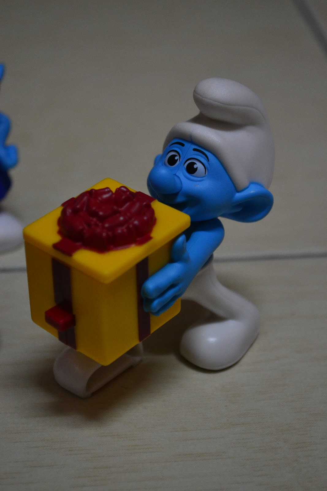 Totally Toys The Smurfs Happy Meal Toys