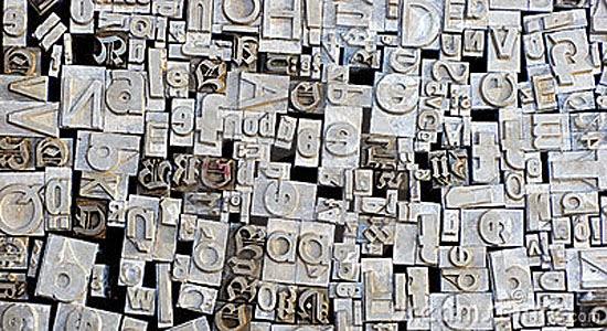 Letras misturadas