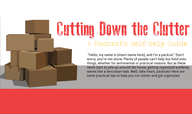 Cutting Down the Clutter: A Packrat's Self-Help Guide