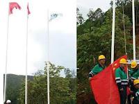 VIDEO: JANGAN PERCAYA isu pengibaran Bendera RRC di Pulau Obi Sebelum Lihat Liputan dari TVRI ini