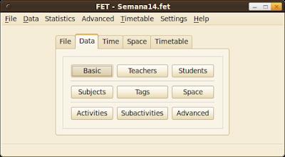 FET Free Timetabling Softwarev-5.31.0|Generezi Automat Orarul Scolii