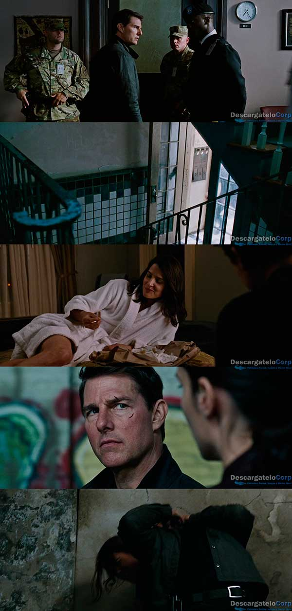 Jack Reacher Sin regreso (2016) HD 720p Español Latino