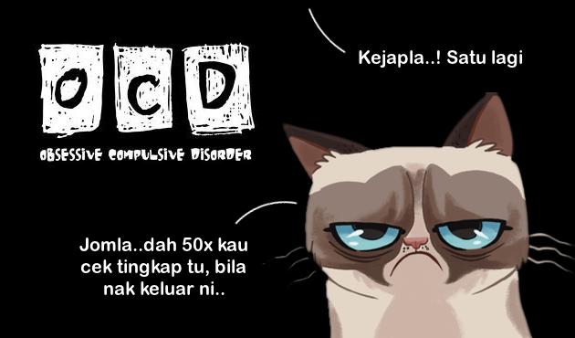 Penyakit OCD yang meletihkan