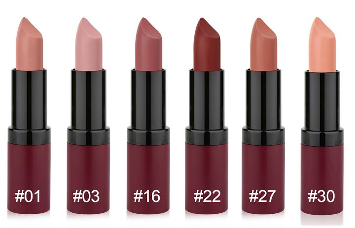 Golden Rose Velvet Matte Lipstick Beauty Review Ortolana Clare