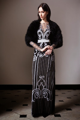 Temperley London Fall 2014 London Fashion Week RTW.