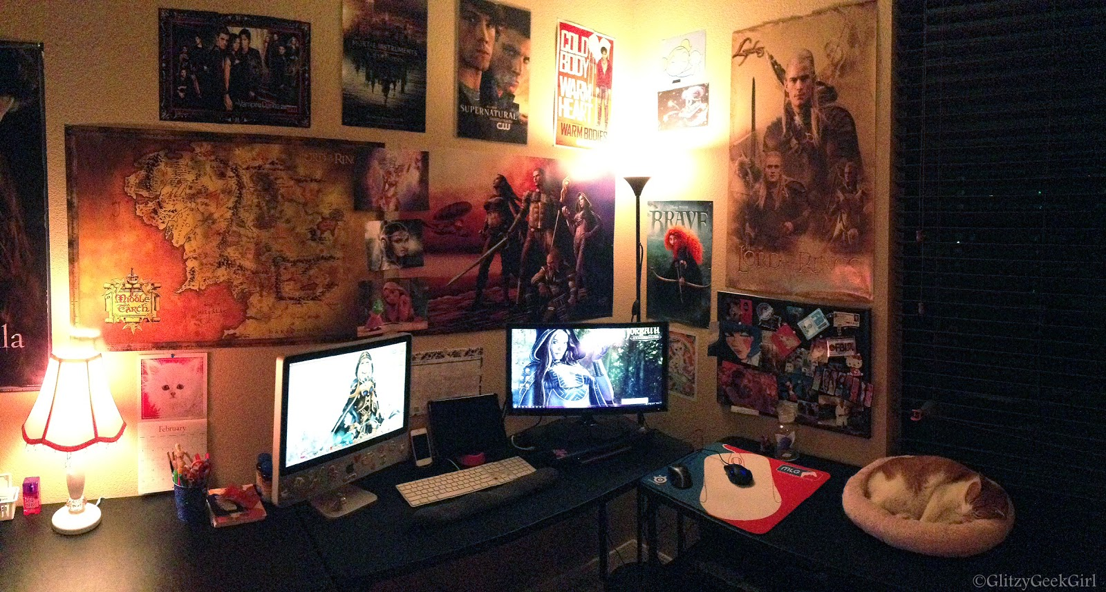 Geek Room Decor Omglitzy Princess Of The Nerds My Room Art And Eq2 Loot