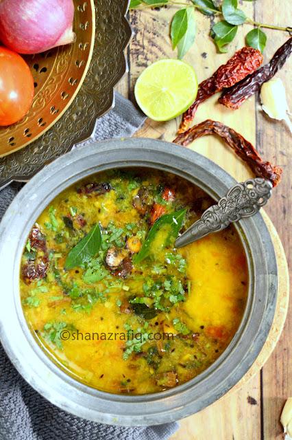 Homestyle Dal ~ Ghar ki Dal ~ Indian Style Lentil Curry