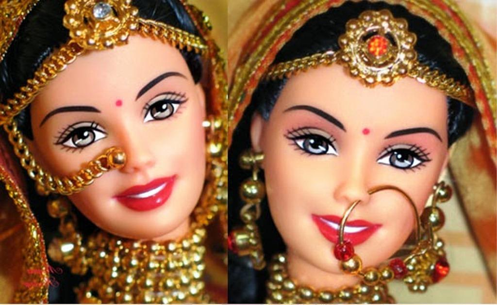 Gambar Boneka Barbie Tercantik dari India