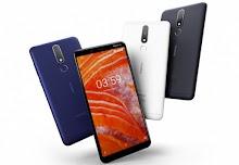Nokia 3.1 Plus Diresmikan dengan Layar Lebih Besar dan Dual-Camera Belakang