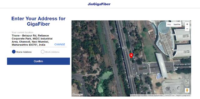 Jio Giga Fiber Registration Online