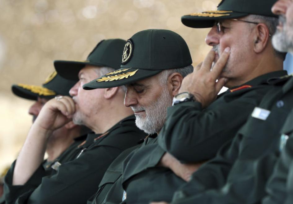Internautas comparten supuesta evidencia fotográfica del asesinato del comandante de la Guardia Revolucionaria de Irán Soleimani