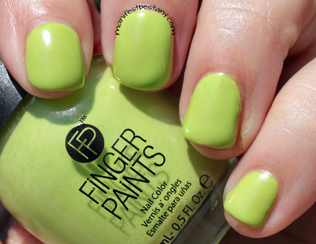 FingerPaints Pastel Rain Collection swatches+review | Confessions of ...