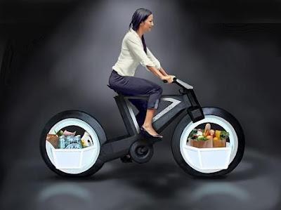 Spesifikasi Sepeda Masa Depan Cyclotron