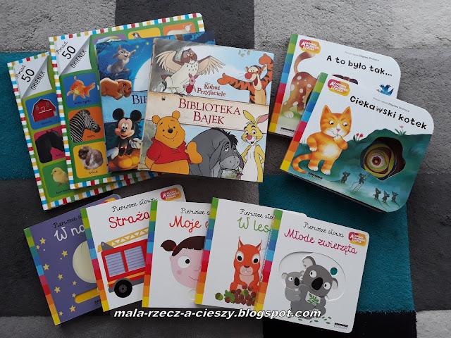 Nowości książkowe w naszej dziecięcej biblioteczce