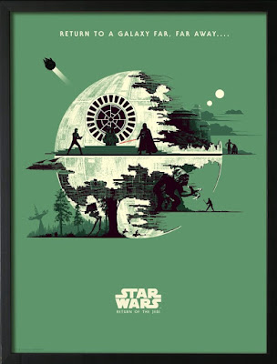 Star Wars Original Trilogy Screen Prints by Matt Ferguson x Bottleneck Gallery