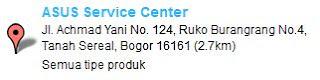 Service Center ASUS bogor