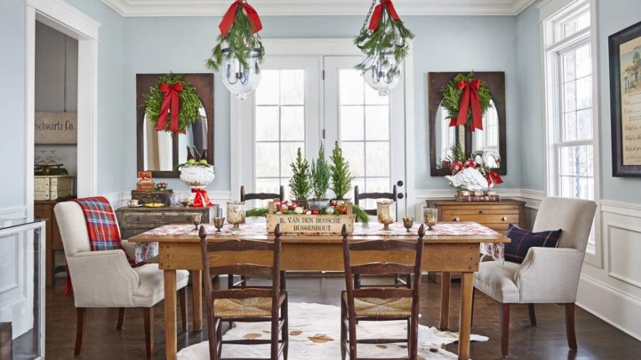 wnętrza, dom, home decor, dekoracje, aranżacje, decorations, Święta, Boże Narodzenie, Christmas, świąteczne dekoracje, styl rustykalny, vintage, rustic style
