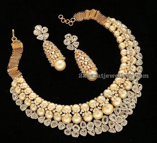 South Sea Pearl Latest Necklace