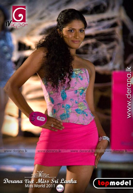 Beauty and secret: Miss Universe Sri Lanka 2011 is