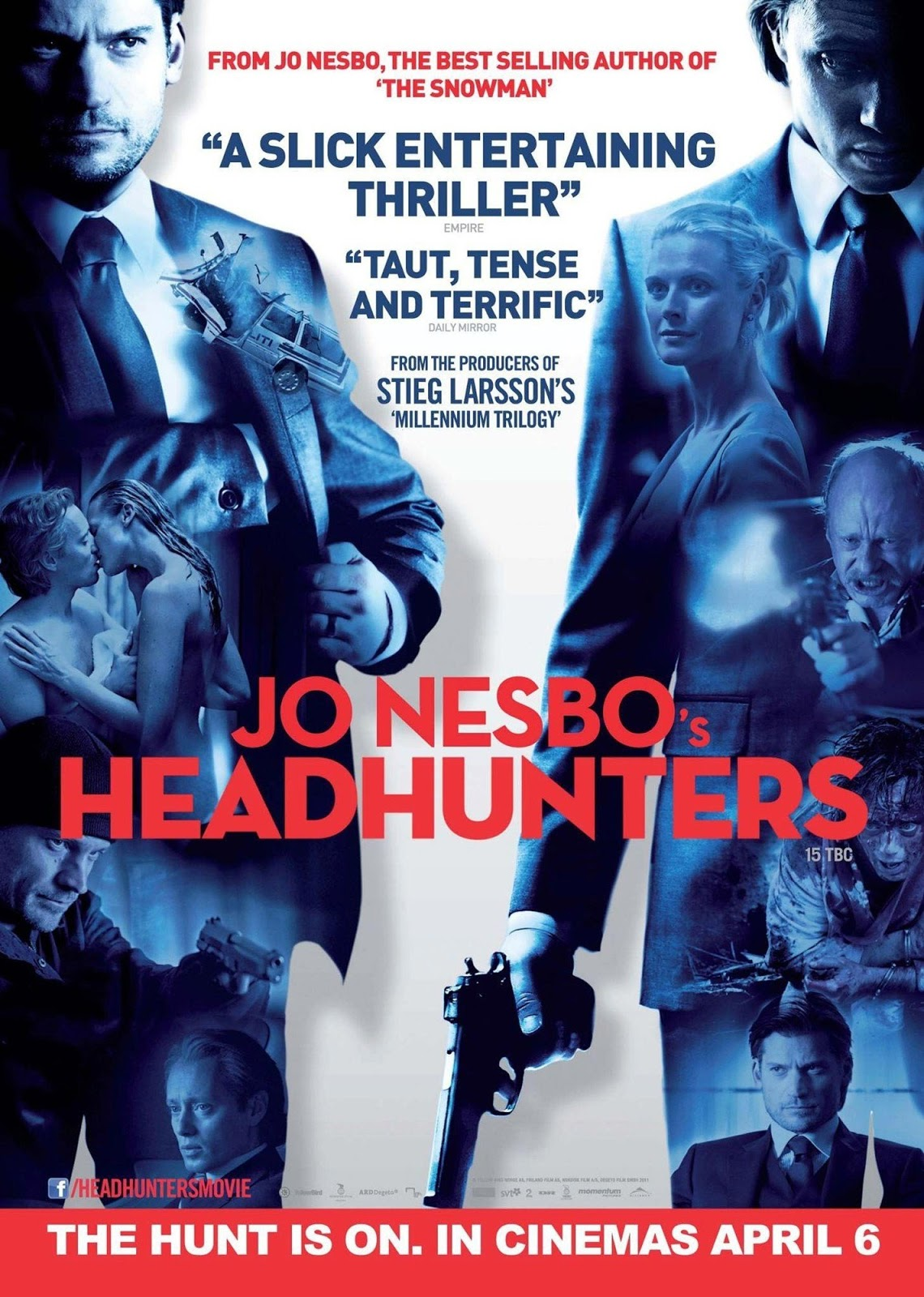 Headhunters ล่าหัวเกมโจรกรรม [HD][พากย์ไทย]