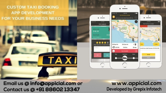 Taxi App Development Company: Call 8860213347 For Uber Clone Taxi