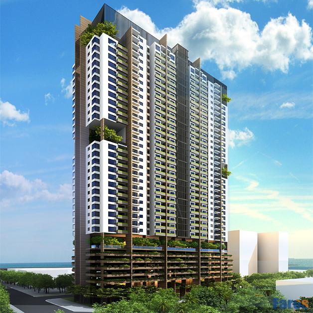 Phối cảnh FLC Green Home 18 Phạm Hùng