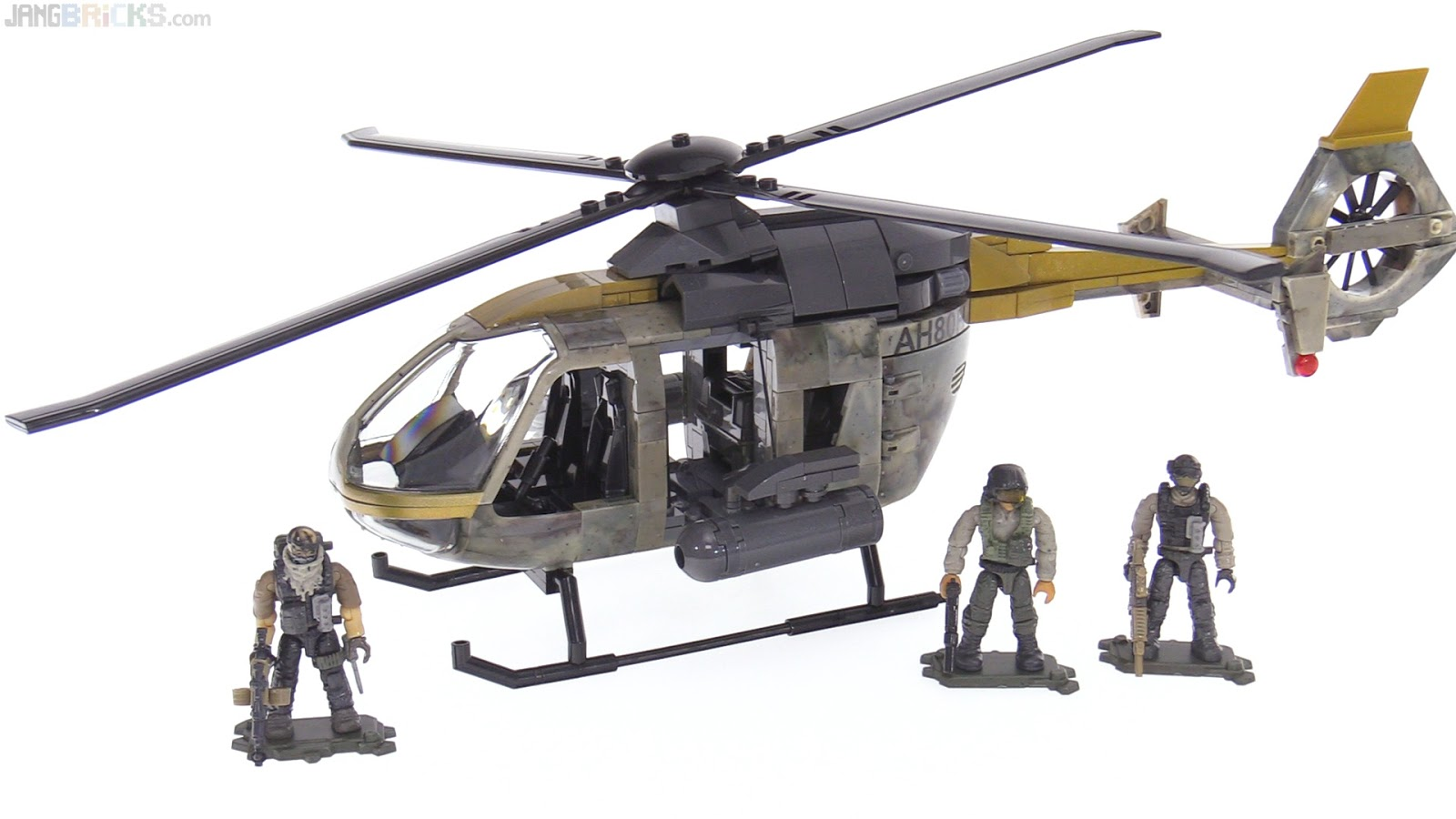 Mega Construx Call Of Duty Urban Assault Copter Review